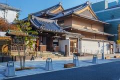 Jokyo-jitempel in Nara Stockfoto