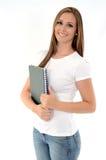 Joli étudiant Image stock