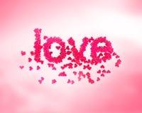 Joli amour Illustration Stock