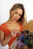 Joli artiste Images stock