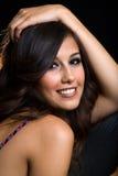 Joli brunette Photo stock