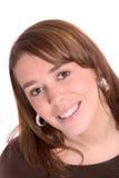 Joli brunette Image libre de droits