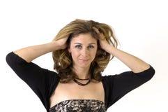 Joli Brunette Photos stock