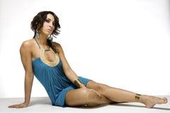 Joli brunette images libres de droits