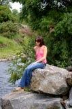 Joli Brunette ! ! Photo stock