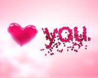Joli coeur Image libre de droits