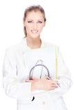 Joli docteur féminin Images libres de droits