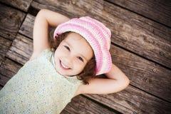 Enfant menteur Photo libre de droits