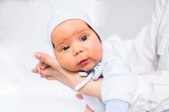 Joli et drôle bébé Photo stock
