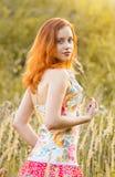 Joli femme Photo stock