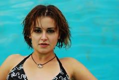 Joli femme Photographie stock libre de droits