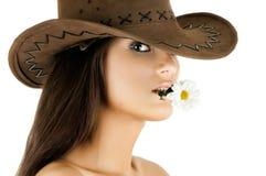 Joli femme Images stock