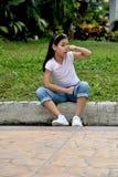Joli Filipina Girl And Odor photos stock