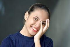 Joli Filipina Juvenile And Happiness photographie stock