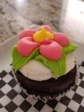 Joli petit gâteau de fleur photos stock