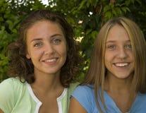 Joli sourire de visages Image libre de droits