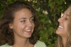 Joli sourire de visages Images libres de droits