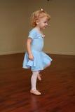 Jolie ballerine 3 d'enfant en bas âge Photos stock