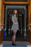 Jolie brune Images stock