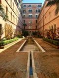 Jolie cour, Venise, Italie Images libres de droits