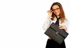 Jolie femme d'affaires. photographie stock libre de droits
