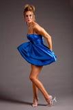 Jolie femme dans la robe Photos libres de droits