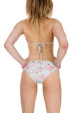 Jolie femme dans le bikini Photos stock