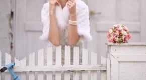 Jolie fiancée Images stock
