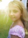 Jolie fille Image libre de droits