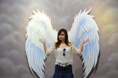 Jolie fille Images libres de droits