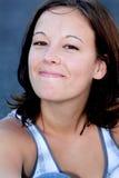 Jolie fille d'université Images libres de droits