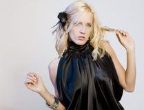 Jolie fille de mode Images libres de droits