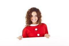 Jolie fille de Noël Photos libres de droits