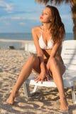Jolie jeune femme Image stock