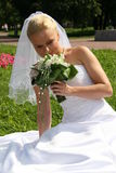 Jolie mariée Images libres de droits