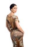 Jolie pose modèle dans le studio Photos libres de droits