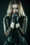Jolie prière Photographie stock
