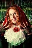 Jolie sorcière photographie stock libre de droits