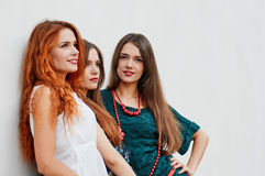 Jolies amies de soeurs Photo stock