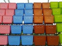 Jolies couleurs d'usines mises en pot Photo stock