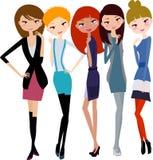 Jolies filles Image stock