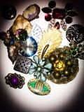 Jolies goupilles jeweled Images libres de droits