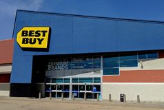 Best Buy Storefront royalty free stock photos
