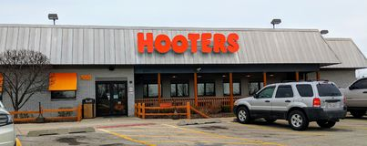 Hooters Restaurant stock images