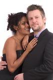 Jolis couples à une réception Photos stock