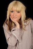 jolis jeunes blonds de femme photos libres de droits