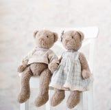 Jolis jouets décoratifs Photo stock