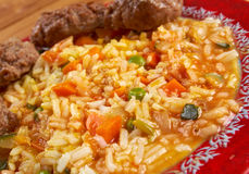 Jollof rice Stock Photography