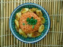 Jollof rice Royalty Free Stock Photography