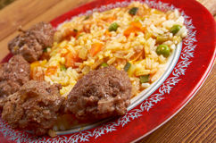 Jollof ryż Zdjęcia Royalty Free